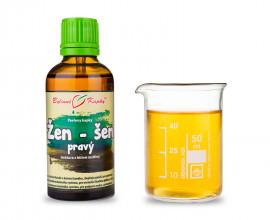 Žen-šen pravý kapky (tinktura) 50 ml