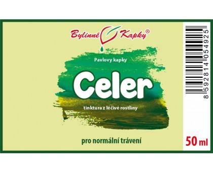 Celer - bylinné kapky (tinktura) 50 ml