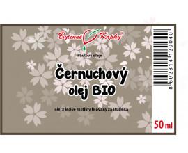 Černuchový olej BIO 50 ml - černucha setá (černý kmín) - přírodní za studena lisovaný olej z černuchy seté