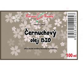 Černuchový olej BIO 100 ml - černucha setá (černý kmín) - přírodní za studena lisovaný olej z černuchy seté