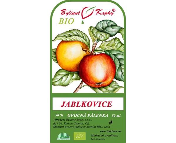 dc68e8d46b2 Jablkovice BIO 50% - ovocná pálenka 50 ml