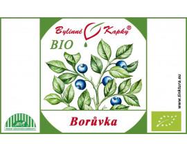 Borůvka BIO - bylinné kapky (tinktura) 50 ml